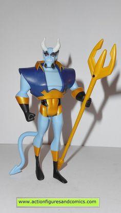 justice league unlimited BLUE DEVIL complete w weapon