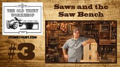 Clear discription of saws and how to construct dovetail joints.