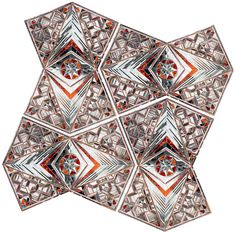 Monir Shahroudy Farmanfarmaian (born 1924) is an Iranian artist and collector of folk art. Her artistic practice weds the geometric patterns and cut-glass mosaic techniques of her Iranian heritage with the rhythms of modern Western geometric abstraction.