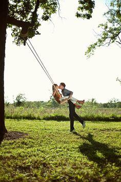 Swing Engagement Photo ♥