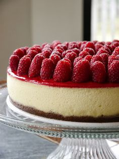 Recipes from the Pickle Boat: Raspberry Cheesecake