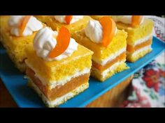 Prajitura cu Crema de Mascarpone si Jeleu de Caise - YouTube Biscuits, French Toast, Clipuri Video, Cheesecake, Food And Drink, Pastries, Breakfast, Youtube, Desserts