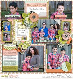 Digital scrapbook page by SeattleSheri using Documenter Bundle by Kelly Bangs Creative and Photo Focus 2018: April by LJS Designs