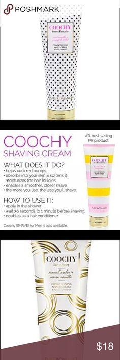 Coochy! Pure Romance Coochy shaving cream. Our #1 best selling product! Don't worry about those awful razor bumps. Use Coochy! Other