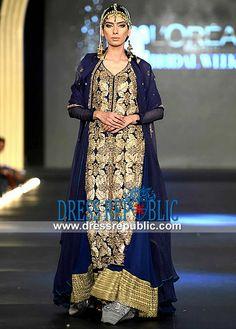 Fahad Hussayn at PFDC LOreal Paris Bridal Week 2013 | Designer Salwar  Party Wear Salwar Kameez Pakistani Dresses by Fahad Hussayn Couture. Party Wear Salwar Suits Party Wear Salwar Kameez Pakistani on Dressrepublic. by www.dressrepublic.com