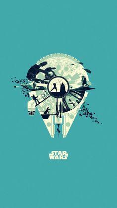 Star Wars Fan Art, Star Wars Cute, Star Trek, Amour Star Wars, Wallpaper Bonitos, Images Star Wars, Star Wars Painting, Galaxy Movie, Tattoos Geometric