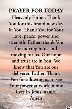 Prayers To Mary, Good Prayers, Powerful Prayers, Spiritual Prayers, Beautiful Prayers, New Years Prayer, Prayer For Today, Daily Prayer, Psalm 91 Prayer