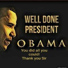Thank you, Mr. President! We really miss you!