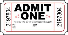 Want to stand out with you party invitations? Try Free Printable Birthday Party Invitations.