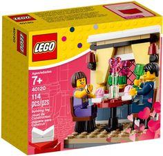 40120 - Valentine's Day Dinner - 2015 $9.99 - LEGO EXCLUSIVE - 114 Pieces