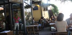 Cafes In Tel Aviv –Café Suzanna. Hg2Telaviv.com.