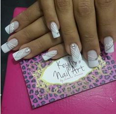 Uñas para matrimonio Fall Nail Art Designs, French Nail Designs, Purple Acrylic Nails, Purple Nails, French Manicure Nails, French Tip Nails, Classy Nails, Stylish Nails, Magic Nails