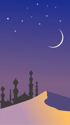 Ramadan is most important occasion for most Muslim individuals. It is also known as the month of blessings and Prayers. It is celebrated all over the world by sending Happy Ramadan 2017 wishes to friends and family. Hp Wallpaper Hd, Islamic Wallpaper Hd, Cute Wallpapers, Cartoon Wallpaper, Landscape Wallpaper, Landscape Art, Flat Design Inspiration, Islamic Art Canvas, Wallpaper Ramadhan