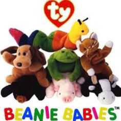 ebbf6320602 Beanie Babies- do you remember this craze  I think everyone had