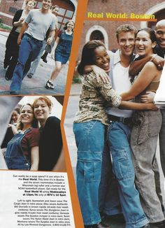lee dungarees ads from 1997 (click through)