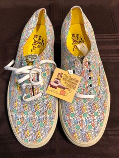 2ef85a2fe4 Extra Off Coupon So Cheap Mens Vans Beatles All You Need Is Love Size 11  Shoes New Yellow Submarine