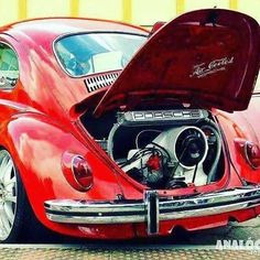 Classic VW with serious power