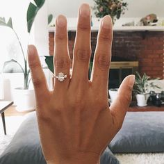 Past, present, and future. Congratulations @kayliberato! Thank you for sharing your beautiful three stone ring with us.