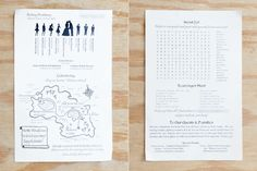 12 Unique Wedding Invitations We're Totally In Love With #refinery29  http://www.refinery29.com/wedding-invitations#slide-6  Now this is a cool invite! Pirate themed, yes, but also deeply fun with a map and scavenger hunt to boot. ...