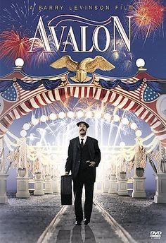 Avalon, 1990. Directed by Barry Levinson, starring Armin Mueller-Stahl, Elizabeth Perkins, Joan Plowright, Aidan Quinn. Music by Randy Newman