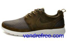 19977ae952c Vendre Pas Cher Chaussures Homme Nike Roshe Run  (couleur vamp