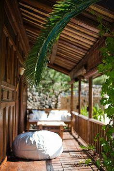 Beautiful veranda atmosphere