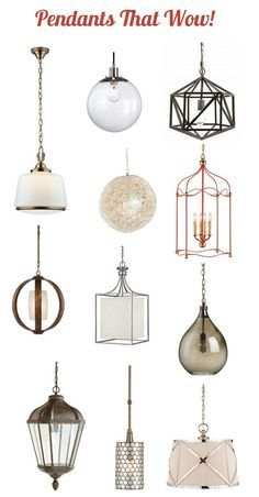 Kitchen Lighting: Pendants That Wow