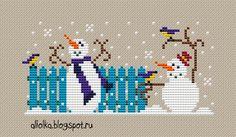 Bonecos de Neve  2