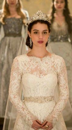 Vestido de noiva dá Rainha Mery   de Reing