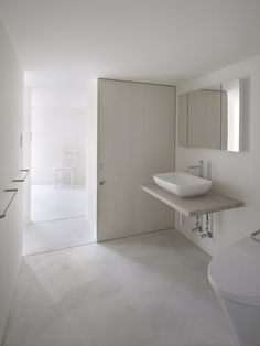 Slice of the City by Alphaville Architects I like this sink arrangement