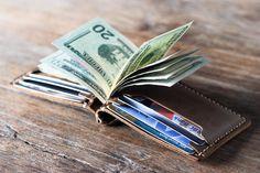 Money Clip Wallet Leather Money Clip Wallet Mens Leather