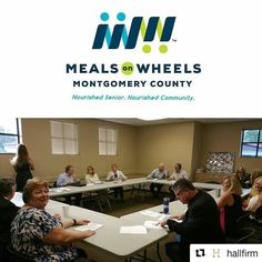 Welcome new Board Members Carrie Hyman and Brittany Sloan! We're excited to have you.  #HallFirm supports Meals on Wheels Montgomery County. Join us at MOWMC.org  September Board Meeting #MealsOnWheels  #MOW  #NoSeniorGoesHungry  #MoreThanAMeal  #MOWMC