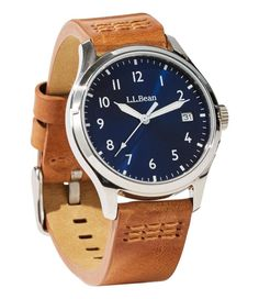 Find the best Katahdin Field Watch at L. Our high quality Men's Accessories are thoughtfully designed and built to last season after season. Cool Watches, Watches For Men, Field Watches, Ll Bean, Low Lights, Vintage Watches, Stainless Steel Case, Make It Simple, Switzerland