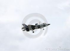 Lockheed Martin F-35 Lightning II at Farnborough airshow