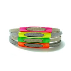 Early Holiday Sale  Neon Pipe Bracelet by StudioHx3 on Etsy, $15.00