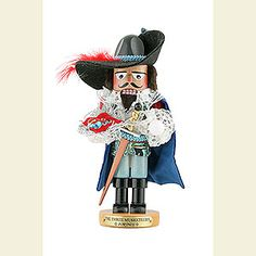 Nutcracker Musketeer Porthos - Limited edition (31cm/ 12,2in) by Steinbach