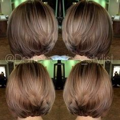 Balayage Hair Color Ideas for Shoulder Length Hair. After the hot ombre hairstyles, more and more people trying the balayage,Balayage hairstyles and trends for dark . Blonde Balayage Bob, Short Balayage, Hair Color Balayage, Ashy Blonde, Subtle Balayage, Balayage Hairstyle, Balayage Straight, Short Blonde, Short Hair Cuts