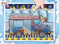 funny cars wash game for kids