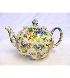 Oriental Garden 8 Cup Teapot
