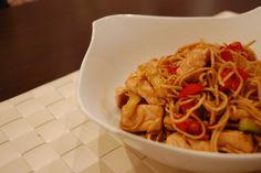 Wok de pollo y verduras | Receta de Sergio