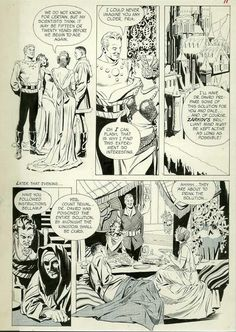 Al Williamson: Flash Gordon, Dale, Ronal and Fria