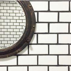 Tile Ideas, Cement, Backsplash, Mirror, Furniture, Home Decor, Decoration Home, Room Decor, Mirrors