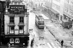 See these fascinating photos of when trolleybuses ruled Nottingham's roads - Nottinghamshire Live Nottingham Road, Birmingham, Old Photos, Past, Times Square, Transportation, Street View, London, Roads