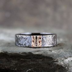 Hey, I found this really awesome Etsy listing at https://www.etsy.com/se-en/listing/206168788/mens-wedding-band-black-sterling-silver