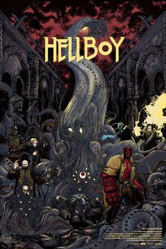 Hellboy #alternative #movie #posters #art