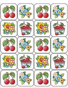 Kersen - 20 Stickers
