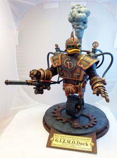 Steampunk GIZMODuck model