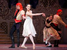 Get your Spanish groove on in Act 2 of the Royal Ballet's The Nutcracker. Photo by Alice Pennefather