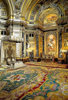 Royal Chapel at Palacio Real de Madrid Spain