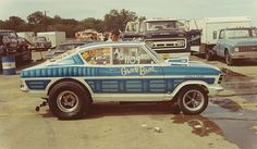 Grove Brothers 426 Hemi-powered Opel, Green Valley 1975